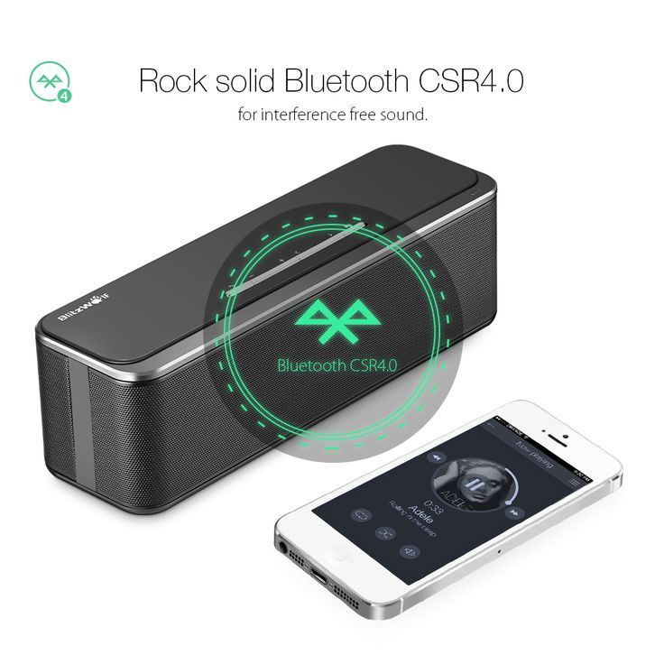 BlitzWolf? BW-F4 2000mAh 10W*2 Outdoor Hands-free AUX Wireless Bluetooth 4.0 Speaker With Mic