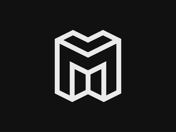 M Logo 3d Pin by Rachel Z...