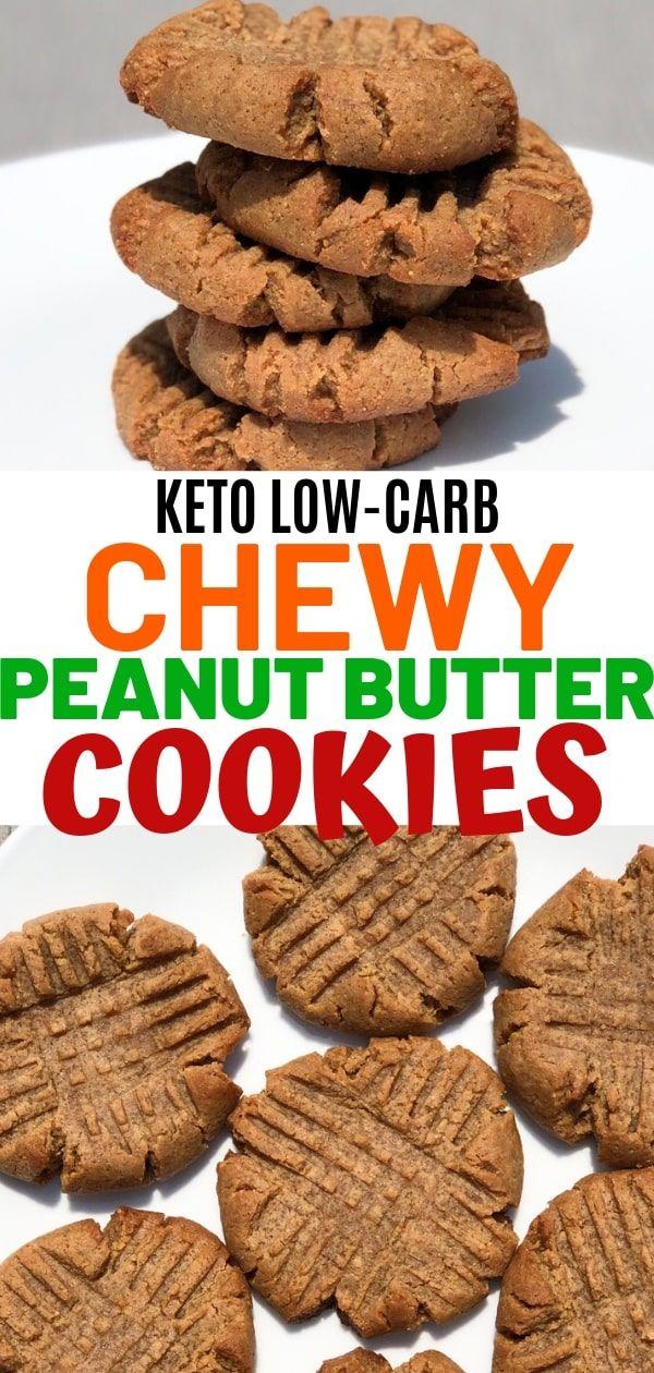 Best 4 Ingredient Keto Peanut Butter Cookies – Cur…
