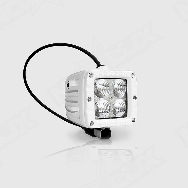 2 Inch Pod Cube #Marine #LED Flood Beam Light for #boats, #yachts, #sailboats, #airboats, #jetski's, and other types of #watercraft-  https://nox-lux.com/product/aurora-2-inch-marine-white-flood-beam-40w/