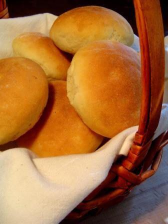 Patatesli Hamburger Ekmegi