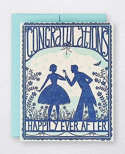 Hello! Lucky Engagement Congratulations Card