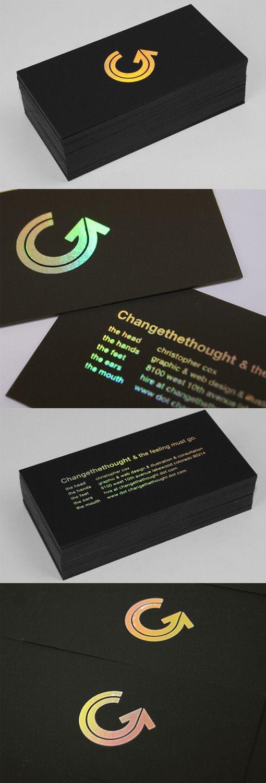 Best 25+ Black business card ideas on Pinterest | Business card ...