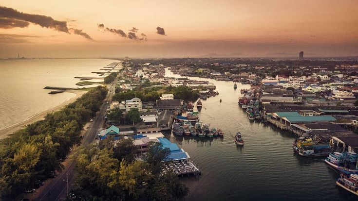 #autohash #Paknam #Thailand #Rayong #seashore #sea #water #city #town #harbor #beach #cityscape #travel #traveling #visiting #instatravel #instago #panoramic #bay #architecture #house #outdoors #skyline #tourism #watercraft #waterfront #djimavic #drones #nofilters