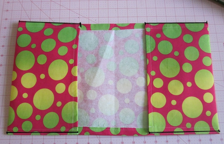 Fabric Book Cover With Zipper Tutorial ~ S o t a k handmade fabric text book cover tutorial