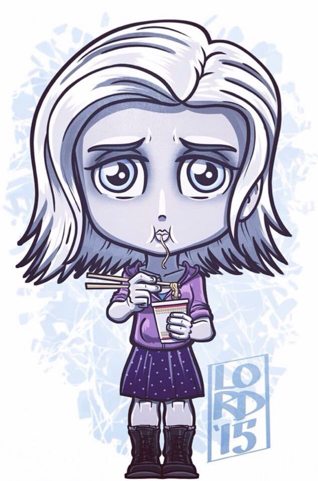 Cute iZombie artwork
