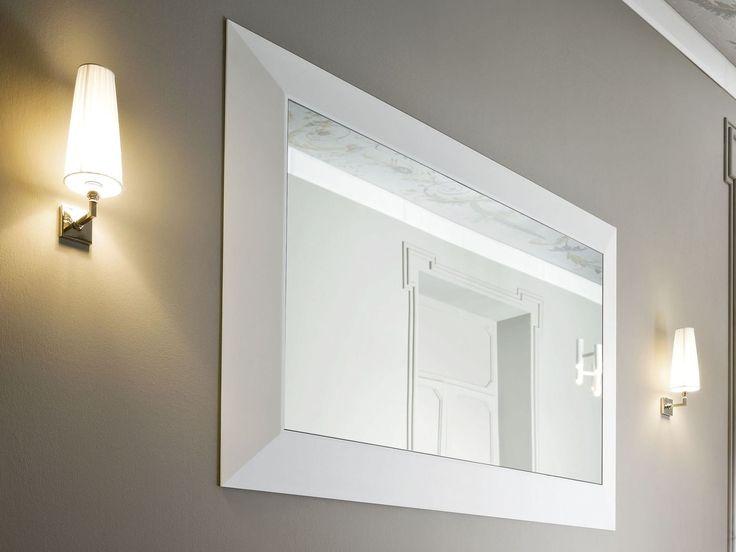 Зеркало для ванной комнаты Коллекция Warp by Rexa Design | дизайн Carlo Dal Bianco