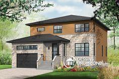 Plan de maison no. W3880 de dessinsdrummond.com