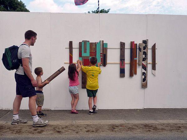 interactive art installation -eltono