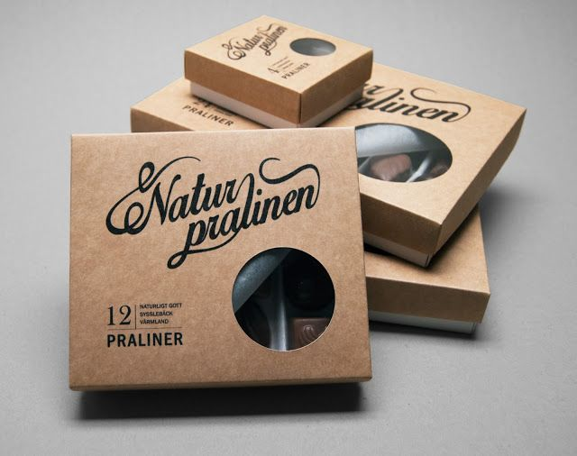 Naturpralinen (Student Project) on Packaging of the World - Creative Package Design Gallery