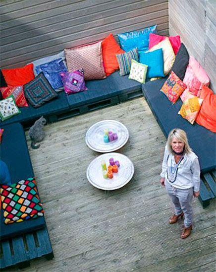 Marokkaanse tuin ideeën met kleuren - inrichting-huis.com | Inspiratie voor de inrichting van je huis