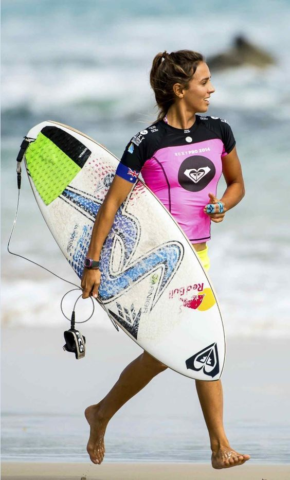 Running Surfing Girl - Florida Beach Cams & Surf Reports