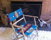Vintage Southwestern chair