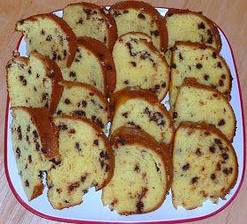 Disney Girl: Chocolate Chip Bundt Cake