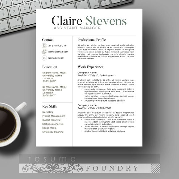 301 best Resumes \ Cover Letters images on Pinterest Resume - difference between resume and cover letter