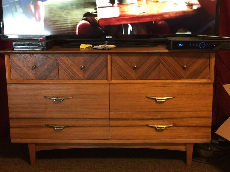 Harmony House 6 drawer dresser with mirror antique appraisal ...