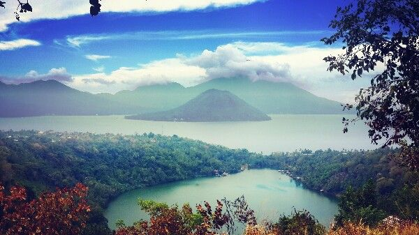 """Ngade Lake - Ternate - Indonesia .. """"when lake meets sea"""""""