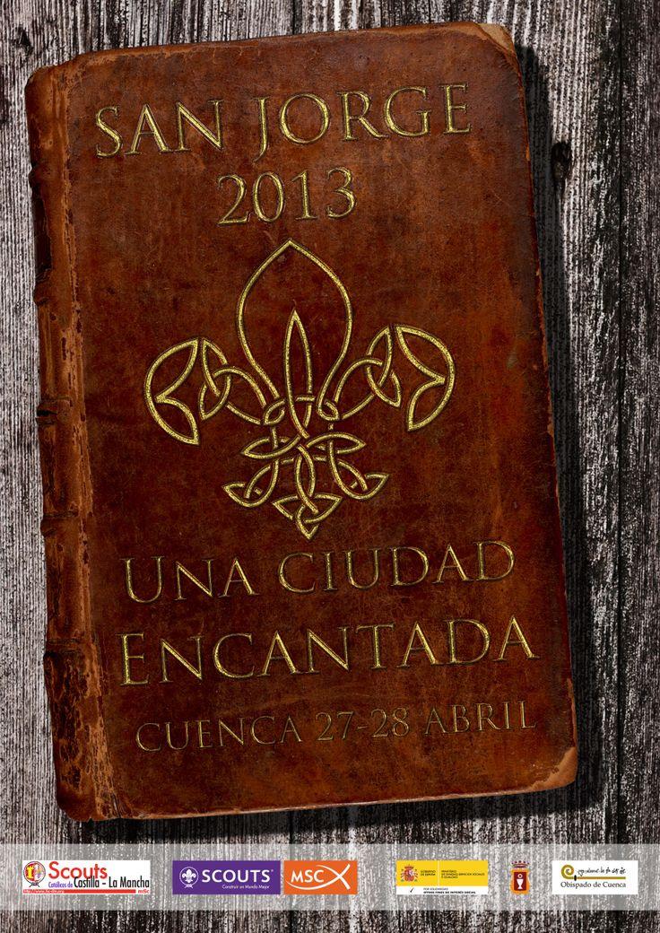 San Jorge Cuenca 2013   Cartel 70x100 cm