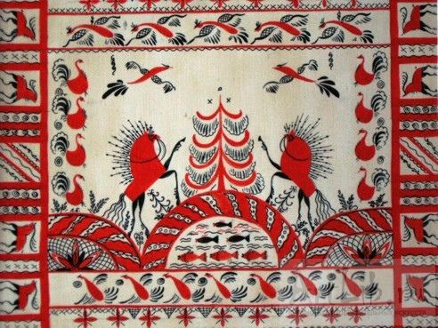 мезеньская роспись - Поиск в Google