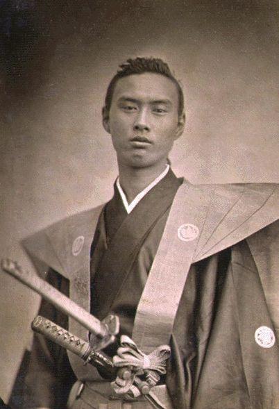+~+~ Antique Photograph ~+~+ Samurai Ikeda Nagaoki