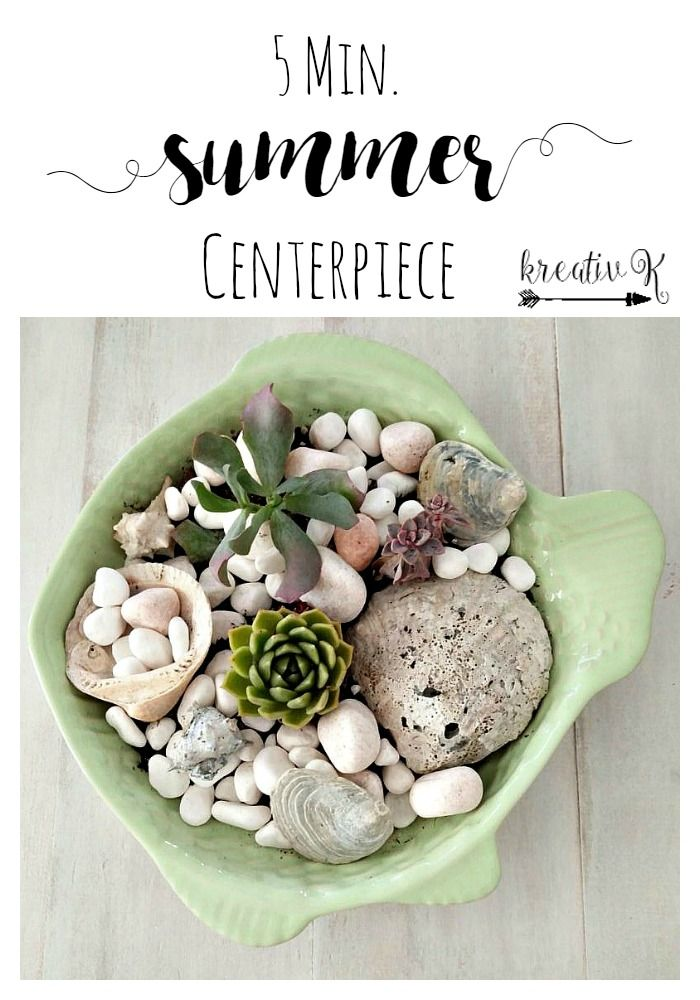 5 Min. Summer Centerpiece [kreativk.net]