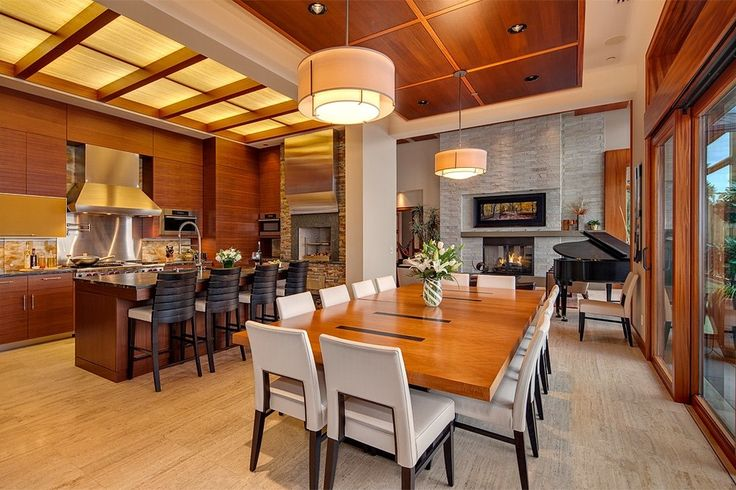 Tavoli Da Sala Da Pranzo Moderni Contemporaneo Sala Da Pranzo with Living Room in Seattle by Schoenfeld Interiors