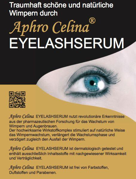 Aphro Celina Eyelash Wimpernserum   http://www.wimpernwuensche.de/aphro-celina-eyelash-wimpernserum.html  #Aphro #Celina #aphrocelina #Eyelash #Wimpernserum #Wimpernwachstumsserum