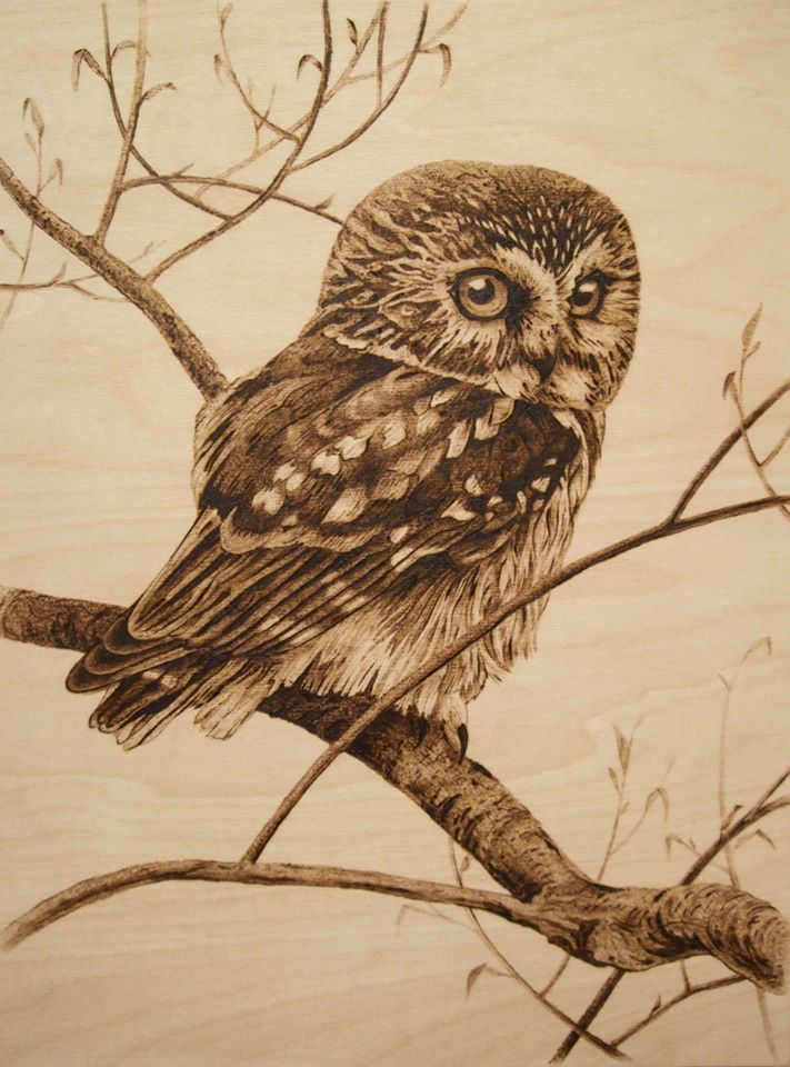 30x40 Cm Pyrography By Lesina Elena My Pyrography