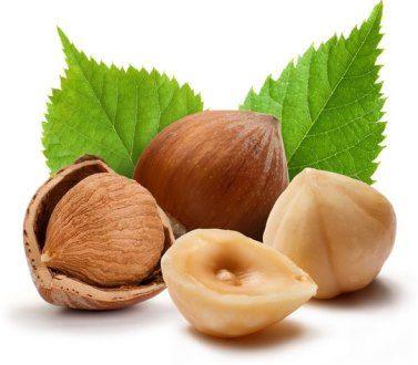 Витамин В5 в продуктах питания - лесной орех