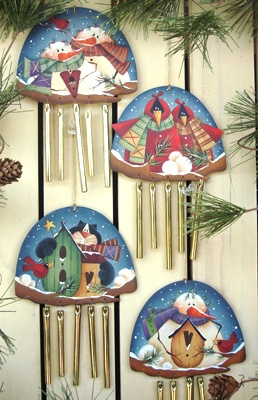 #ep114 Winter Melody Ornaments