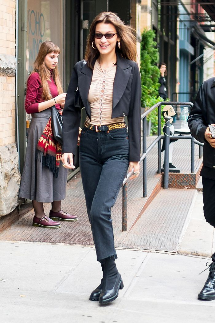 The Official Bella Hadid Fall Capsule Wardrobe ropa otoño invierno