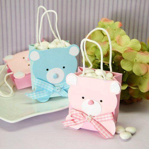 Mini Teddy Bear Favor Bag by Beau-coup