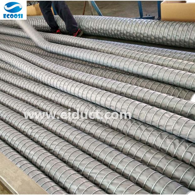 High Temperature Ducting Flexible Ducting Product Center Ecoosi Industrial Co Ltd Flex Duct Vinyl Fabric Flexible Duct