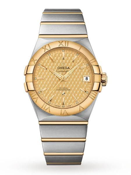 These are the following features: Product Type : Watches Recipient : Mens Watches Manufacturer Name : Omega Family : Omega Constellation Movement Type : Automatic WatchesMATIC Dial Colour : Champagne