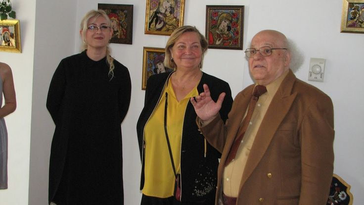 """Vernisaj """"DecoArtGlass"""",  Beltic Ioana  la Muzeul National al Satului """"D..."""