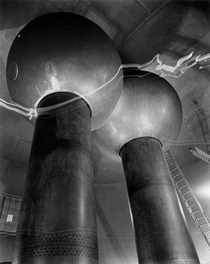 Berenice Abbott - Van de Graaff Generator, Cambridge, Massachusetts, 1958. … via art Fixx