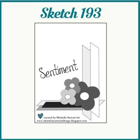 A weekly sketch challenge blog hosted by Atlantic Canadians Darla Haverstock and Michelle Stewart.
