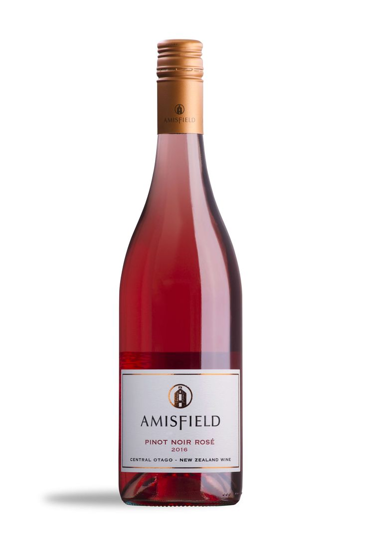 Amisfield Pinot Noir Rose 2016 - Lusciously pink with fresh watermelon and summer berry aromatics, crisp lingering summer fruit flavours and a soft, silky and dry finish.