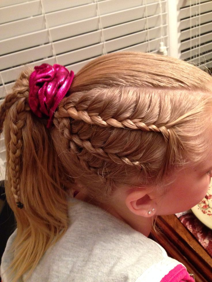hairstyles for heart shaped face : Gymnastics Competition Hairstyles Gymnastics Hairstyle Lace