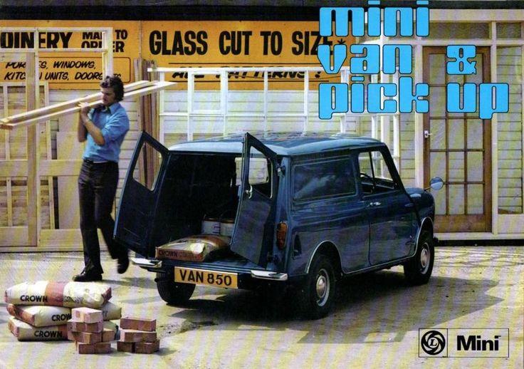 Mini Van and Pick Up brochure 1975 8 Sided Brochure (C5)