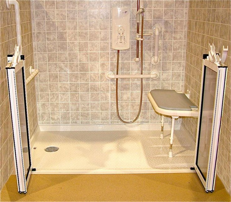 Handicap Bathroom Showers: 10 Best Images About Handicap Shower / Ramps On Pinterest