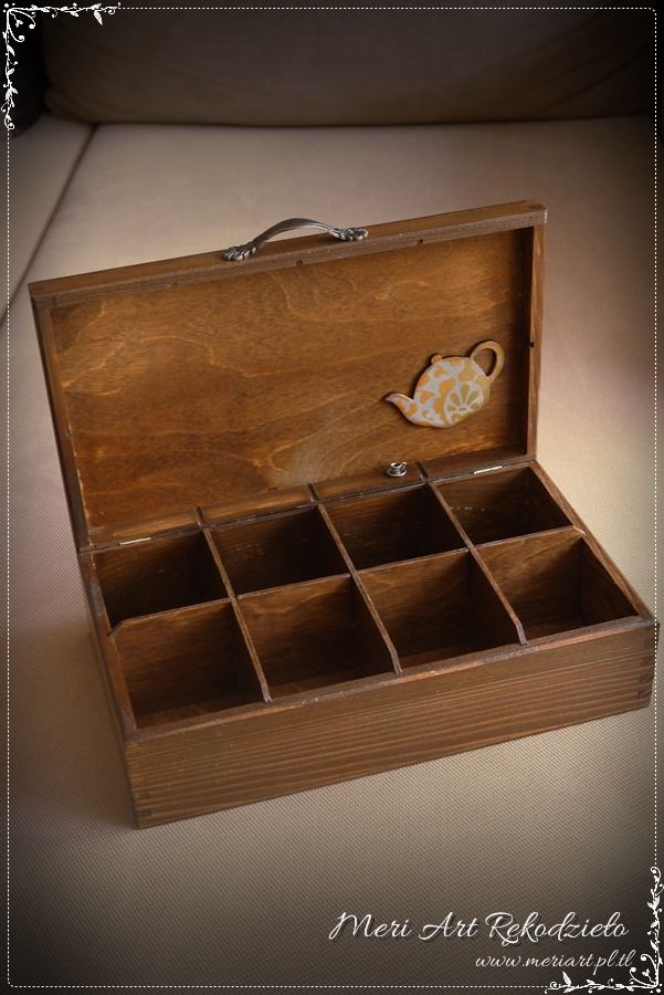 Wooden box for tea, pic.2
