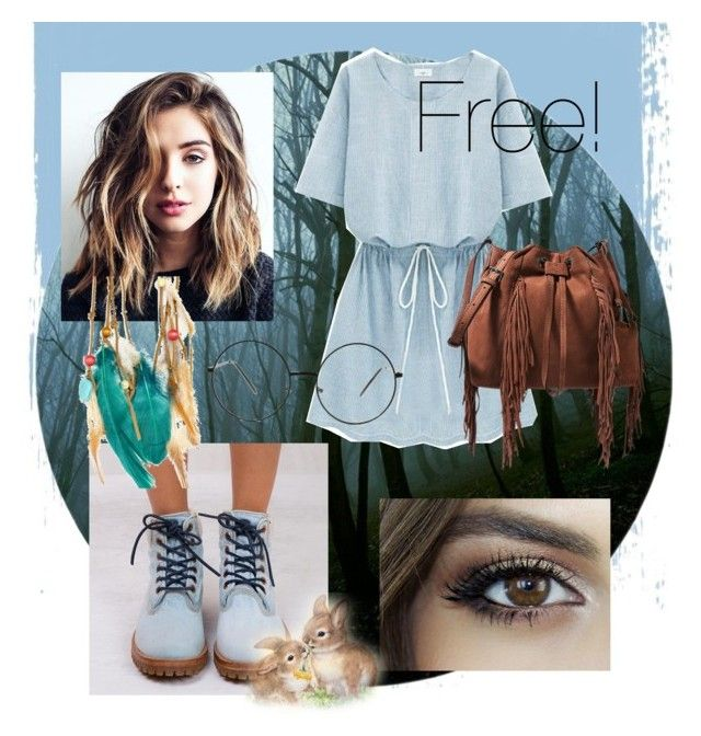 """""""Wear what you want☺️"""" by itsluxx on Polyvore featuring moda, Timberland, Boohoo y Diane Von Furstenberg"""