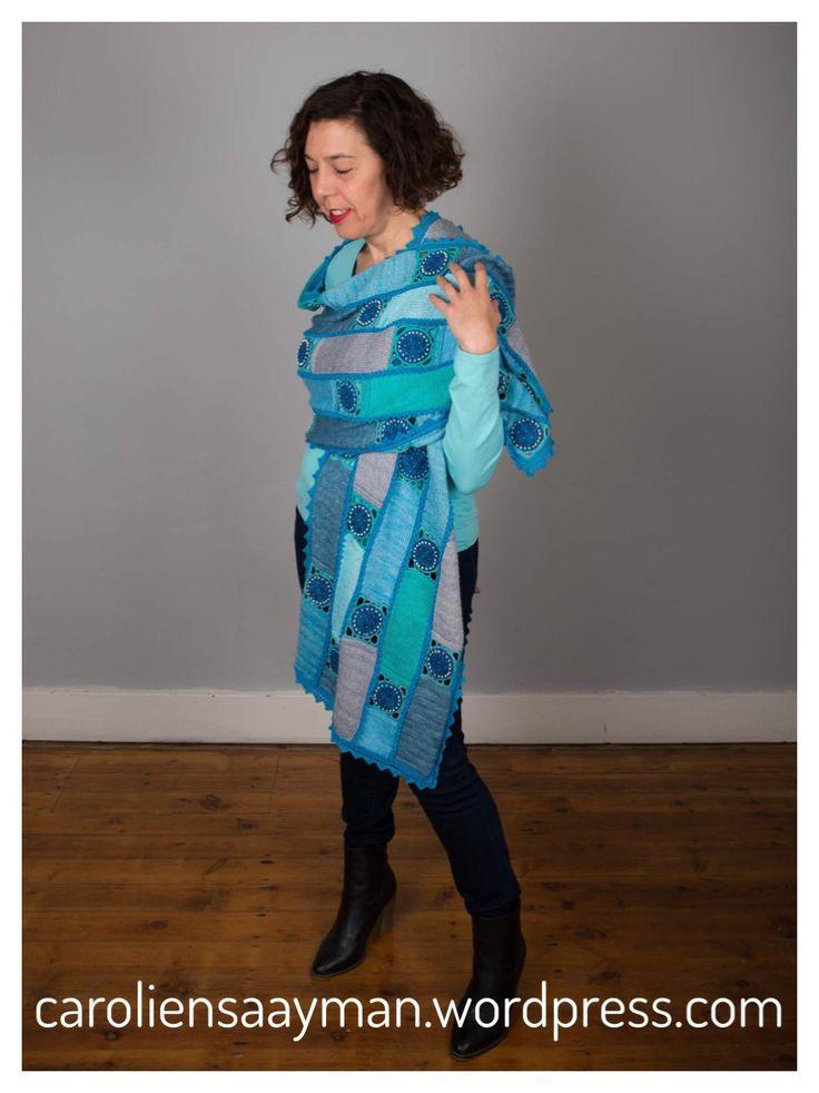 Summer loving... caroliensaayman.wordpress.com #wearableart #knittersofinstagram #knittersoftheworld #knittinglove #knitting #knittingdesign #caroliensaayman #scarf #shawl