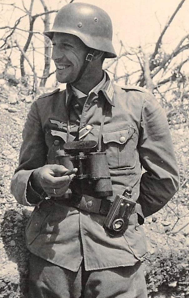 Soldiers Of The Wehrmacht. Good mood.