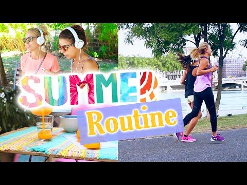 Summer Morning Routine !! - YouTube