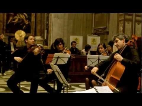 Franz Schubert, An die Musik op. 88 n. 4  Recorded live in San Giovanni dei Fiorentini, in 2012. Cello: Valeriano Taddeo. Transcription for cello and string orchestra by Cristiano Serino