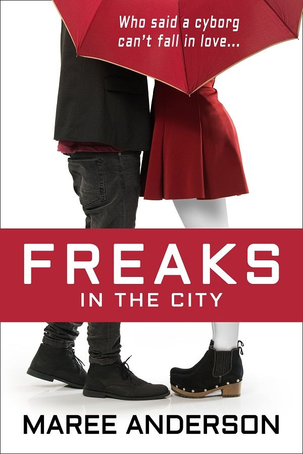 Freaks in the City cover makeover (June 2014) http://www.mareeanderson.com/books/freaks-in-the-city