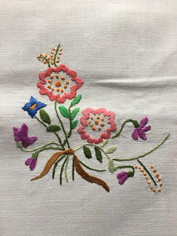 Best flores para bordar images on pinterest