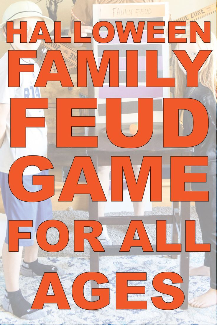 Family Feud Questions Adults : family, questions, adults, Halloween, Family, Feud,, Game,